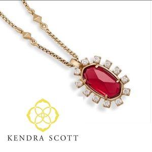 ■Kendra Scott■ Brett Berry Glass Necklace
